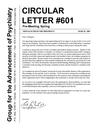 Circular letter 601