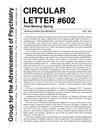 Circular letter 602